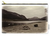 Shore Of A Loch In The Scottish Highlands Carry-all Pouch