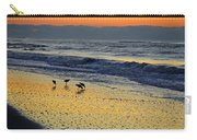 Shorebirds At Dawn Carry-all Pouch