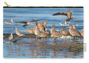 Shorebirds Flocking At Bodega Bay Carry-all Pouch