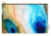 Shoreline - Abstract Art By Sharon Cummings Carry-all Pouch