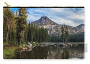 Shoreline View Of Anthony Lake Carry-all Pouch