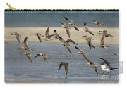 Short-billed Dowitchers Flying Carry-all Pouch