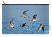 Short-billed Dowitchers In Flight Carry-all Pouch