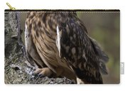 Short-eared Owl Asio Flammenus Carry-all Pouch