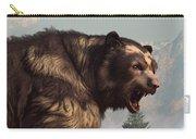 Short Faced Bear Carry-all Pouch by Daniel Eskridge