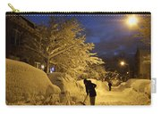 Shoveling Away Carry-all Pouch