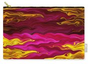 Showpiece Waves Carry-all Pouch