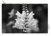 Obedient Plant In Black And White Carry-all Pouch