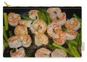 Shrimp And Asparagus Carry-all Pouch