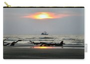 Shrimp Boat At Sunrise Carry-all Pouch