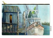 Shrimp Boat Paintings Carry-all Pouch