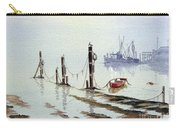 Shrimp Boat With Evening Lights Carry-all Pouch