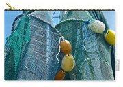 Shrimp Net Close Up Carry-all Pouch