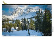 Shuksan Winter Paradise Carry-all Pouch by Inge Johnsson