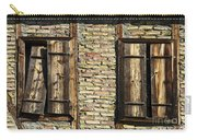 Shuttered Windows Carry-all Pouch