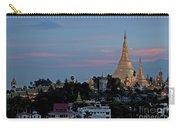 Shwedagon Pagoda In Yangon Myanmar Carry-all Pouch