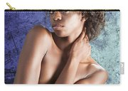 Chynna African American Nude Girl In Sexy Sensual Photograph And In Color 4786.02 Carry-all Pouch
