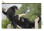 Siamang Monkeys Carry-all Pouch