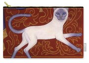 Siamese Cat Runner Carry-all Pouch