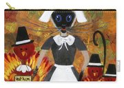 Siamese Queen Of Thanksgiving Carry-all Pouch by Jamie Frier