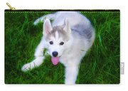 Siberian Huskie Carry-all Pouch