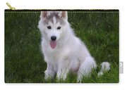 Siberian Huskie Pup Carry-all Pouch