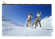 Siberian Husky Dogs Carry-all Pouch