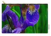 Siberian Iris Carry-all Pouch