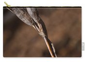 Siberian Iris Seed Pod 1 Carry-all Pouch