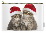 Siberian Kittens In Hats Carry-all Pouch