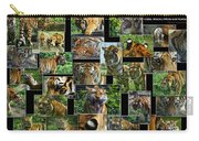 Siberian Tiger Collage Carry-all Pouch