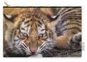 Siberian Tiger Cub Panthera Tigris Altaicia Wildlife Rescue Carry-all Pouch