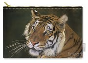 Siberian Tiger Portrait Endangered Species Wildlife Rescue Carry-all Pouch