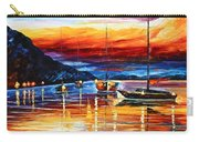 Sicily Messina Carry-all Pouch by Leonid Afremov