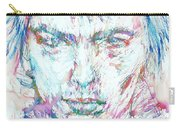 Sid Vicious - Colored Pens Portrait Carry-all Pouch