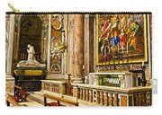 Side Altar In St Peters Basicilca Carry-all Pouch