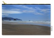 Side By Side Along The Beach Carry-all Pouch