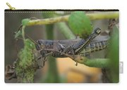 Side Of Big Brown Grasshopper Carry-all Pouch