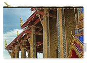 Side Of Royal Temple At Grand Palace Of Thailand In Bangkok Carry-all Pouch