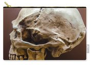 Side Profile View Of Human Skull   Carry-all Pouch