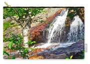 Side View Of Southeast Brook Falls In Gros Morne Np-nl Carry-all Pouch