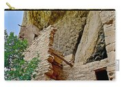 Side Window In Spruce Tree House On Chapin Mesa In Mesa Verde National Park-colorado  Carry-all Pouch