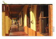 Sidewalk In Tlaquepaque District Of Guadalajara Carry-all Pouch by Elena Elisseeva