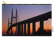 Sidney Lanier Bridge At Sunset Carry-all Pouch