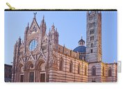 Siena Duomo At Sunset Carry-all Pouch by Liz Leyden
