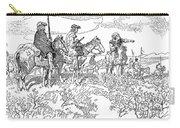 Sieur De La Verendrye (1685-1749) Carry-all Pouch