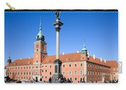Sigismund's Column And Royal Castle In Warsaw Carry-all Pouch