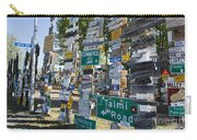 Sign Forest Watson Lake Carry-all Pouch