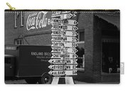 Sign Post In Crossville Tennessee 1939 Carry-all Pouch