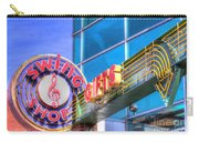 Sign - Swing Shop - Jazz District Carry-all Pouch